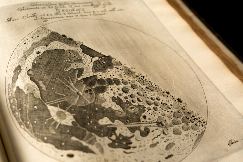 Map of the Moon   galileo