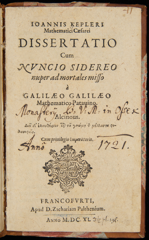 an analysis of galileos work in the starry messenger 1610 - galileo publishes his first book on astronomy, sidereus nuncius (starry messenger) 1615 - the roman inquisition summons galileo to rome to defend the ideas set forth of starry messenger, and begins deliberations that will result in the censuring of galileo's copernican views.