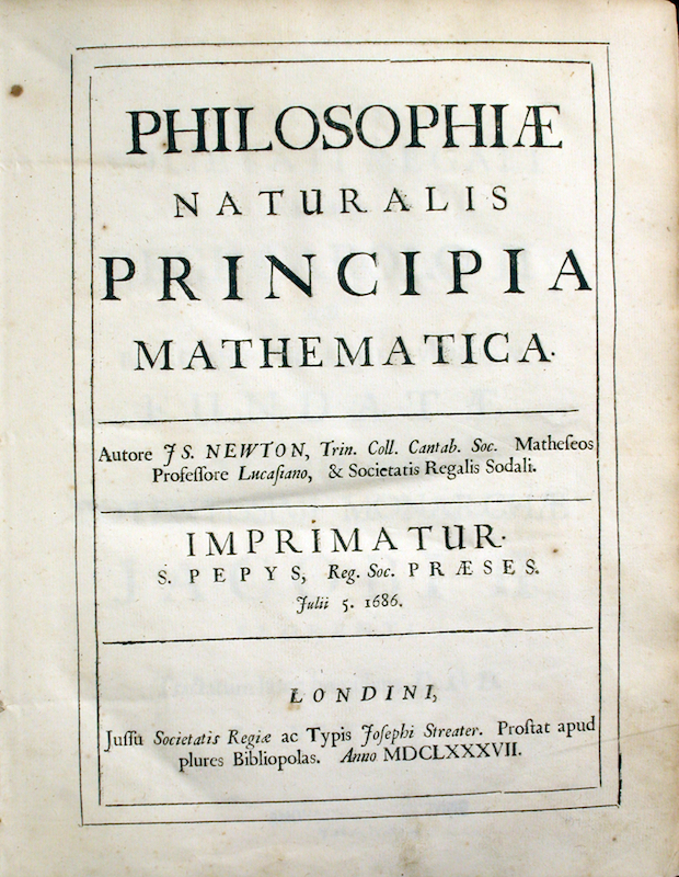 The Mathematical Principles of Natural Philosophy (1687)
